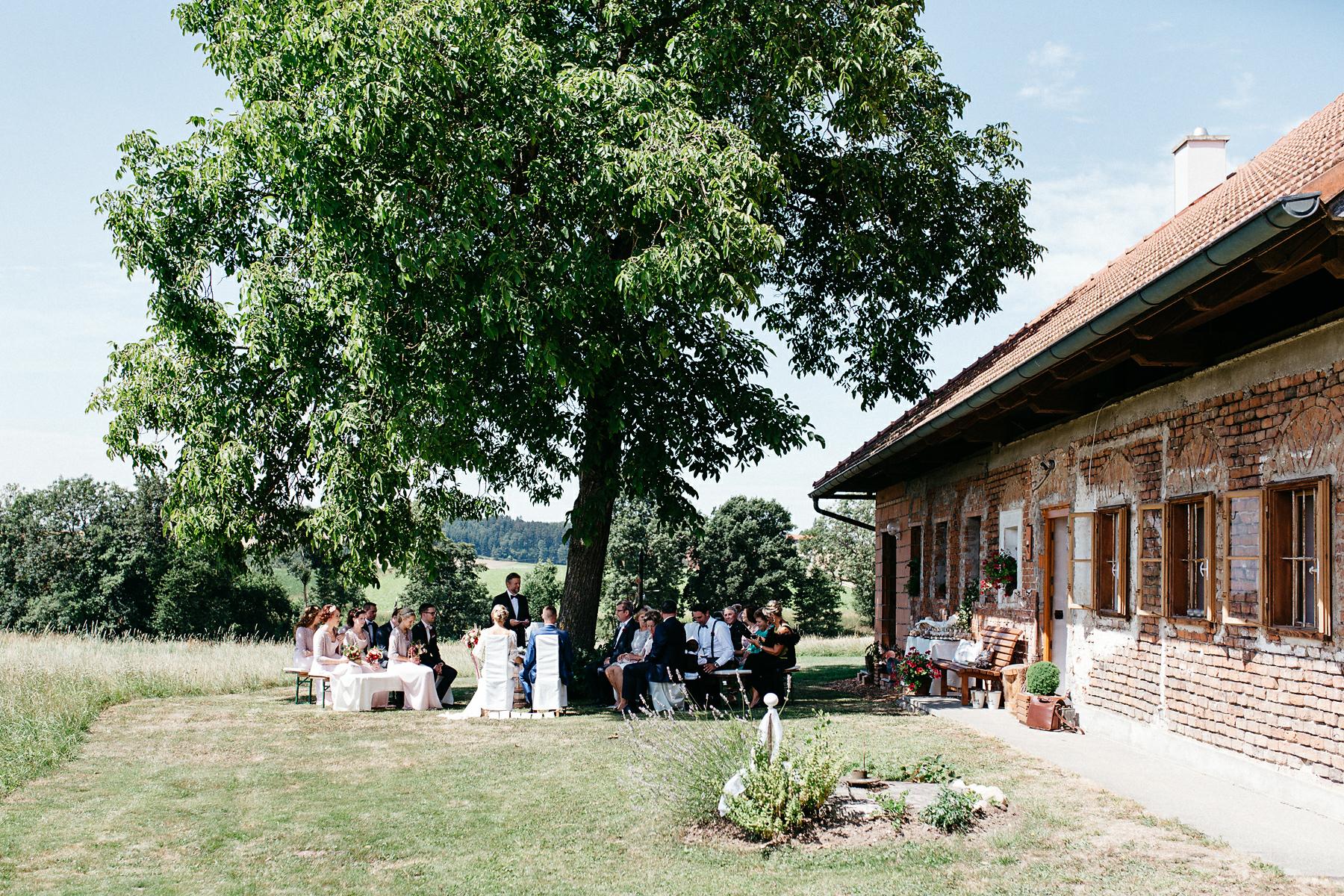 Gartenhochzeit in Österreich
